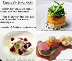 Burns night recipes