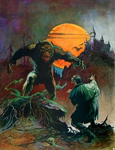 Frank Frazetta Paintings, Art, Pictures, Gallery, frank_frazetta_wolfman