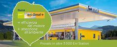 Un carburante premium con il 15% di componente rinnovabile, prodotta a partire da oli vegetali nella bioraffineria Eni di Venezia è Eni Diesel +