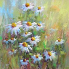 Karen Margulis, like myself, she works with Pastels. I have always admired Karen's use of this medium.