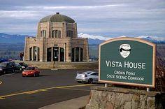 Vista House, Columbia River Gorge, Oregon