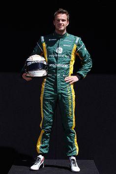 Round 1, Rolex Australian Grand Prix 2013, Preparation, #21 Giedo van der Garde (NED), Driver, Caterham F1 Team