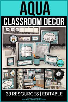 Classroom Board, Classroom Labels, Classroom Decor Themes, Classroom Design, Classroom Organization, Bulletin Boards, Classroom Ideas, Future Classroom, Calm Classroom
