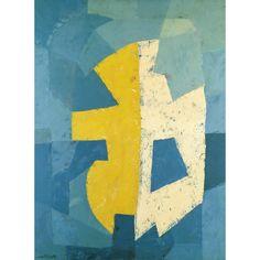 Serge Poliakoff composition abstraite 1950 Museum Würth © ADAGP Paris, 2013