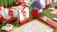 Little Red Riding Hood Party with Such Cute Ideas via Kara's Party Ideas | KarasPartyIdeas.co #BigBadWolf #Party #Ideas #Supplies (17)