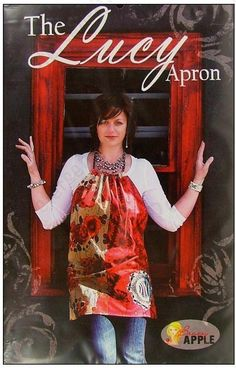 Brassy Apple The Lucy Apron Sewing Pattern by StartToFinish, $7.95