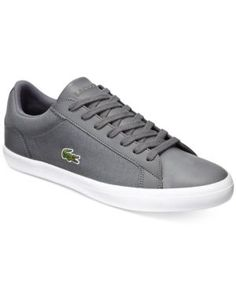 Lacoste Men's Lerond 316 1 Sneakers - Gray 7.5