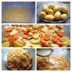 Nudel Kartoffelauflauf