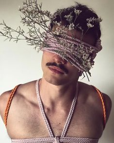 By Fabio da Motta The Hanged Man, Rope Art, Gay Art, In The Flesh, Fiber Art, Photo Art, Lilac, Art Photography, Flowers