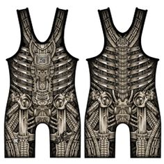 Bioman Wrestling Singl  http://www.bluechipwrestling.com/ I DO NOT WRESTLE BUT THIS IS AMAZING. REMIND OF ME IKKEI MIYAKE DRESS DESIGN. I CAN WEAR UNDERNEATH OF SOME CLOSE WHICH SHOWS PARTIAL DESIGN.