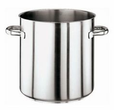 "World Cuisine 11001-32 27-qt Stock Pot w/ Dual Handle, Stainless Steel, Each by World Cuisine. $193.50. World Cuisine 11001-32 27-qt Stock Pot w/ Dual Handle, Stainless Steel. Stock Pot, 27 quart, 12-1/2"" diameter x 12-1/2"" H, no lid, induction ready, stainless steel sandwiched around aluminum plate, dual welded handles, NSF"