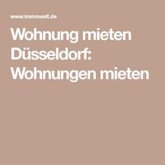 Wohnung mieten Düsseldorf: Wohnungen mieten