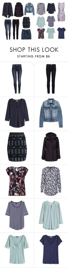 """Blue"" by lone-haure-norrevang on Polyvore featuring H&M and Jakke"