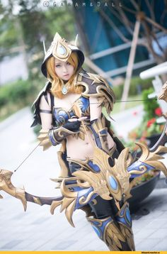 Blizzard Cosplay,Blizzard,Blizzard Entertainment,фэндомы,Heroes of the Storm,Sylvanas Windrunner,Warcraft,cosplay