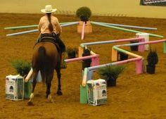 Horse maze.