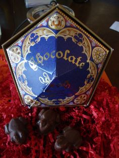 Chocolate Frog Harry Potter Candy, Harry Potter Theme, Harry Potter Birthday, Chocolate Frog, Birthday Parties, Birthday Ideas, Mischief Managed, Hogwarts, Party Time