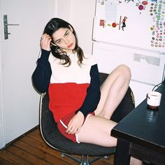 Photo by Emma Le Doyen and Morgane Nicolas for American Apparel France.