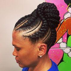 Enjoyable African Hair Braiding Style And Hair On Pinterest Short Hairstyles Gunalazisus