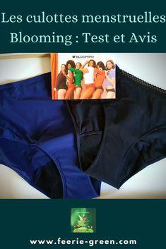 Mon test et avis sur Les culottes menstruelles Blooming - ( #zéro déchet #écologie #écoresponsable) Culottes, Gym Shorts Womens, Green Lifestyle, Vie Simple, Permaculture, Blogging, Articles, France, Fashion