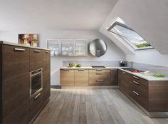 Etniq moderní kuchyně v exotickém dezénu / modern kitchen Corner Desk, Kitchen Cabinets, Furniture, Home Decor, Corner Table, Decoration Home, Room Decor, Cabinets, Home Furnishings