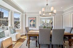 Elegant top floor condo in Pacific Heights with Golden Gate views. $2,500,000.