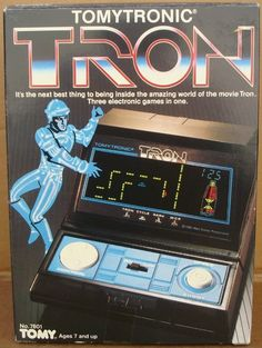 Tron Video game from 1980s