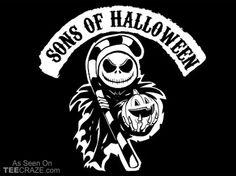 Sons Of Halloween T-Shirt - http://teecraze.com/sons-of-halloween-t-shirt/ -  Designed by TShirt Laundry    #tshirt #tee #art #fashion #clothing
