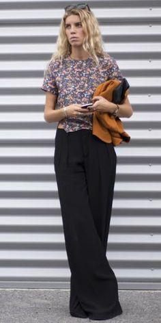 Look der Woche: Die Wide-Leg-Pants ist unser neuer Hosen-Liebling -