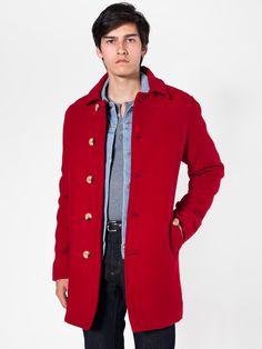1c93b297528 American Apparel - Wool Peacoat American Apparel