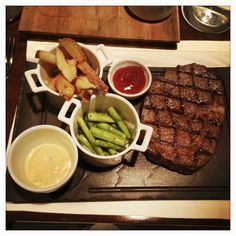 Sage, Shangrila Makati : 4/5 Excellent Steaks! Click here for the full review Trendy Bar, Makati, Steaks, Manila, Sage, Restaurants, Dining, Food, Beef Steaks