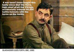 Olaf the Hairy - One of Blackadder's best insults #blackadder #blackadderquotes #britishcomedy