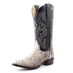 Circle G Python Cowboy Boots (Tent Sale!)
