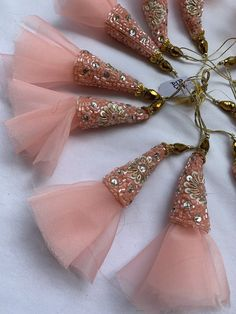 Lehenga, 1 Piece, Tassels, Diy Crafts, Drop Earrings, Accessories, Design, Thoughts, Fashion