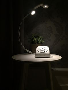 An inventive way to use an old rotary dial LM Ericsson phone