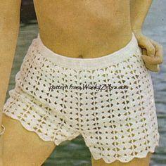 Crochet Bikini Set PDF Vintage Pattern 278 from by wonkyzebra, $3.00