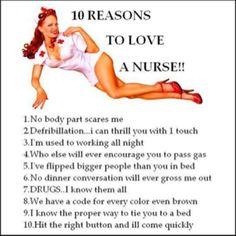 Gotta love nurses...