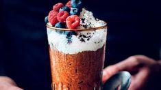 Nejnovější trendy a superpotraviny v báječné kombinaci, kdy si ani neuvědomíte, jak zdravě vlastně mlsáte. Chia Puding, Stevia, Healthy Cooking, Quinoa, Tiramisu, Acai Bowl, Low Carb, Fresh, Baking