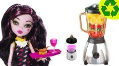 Cómo hacer una licuadora, batidora realista para muñecas - Manualidades ...