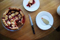 Ciasto truskawkowe (tarta) w amerykańskim stylu - What a mess!