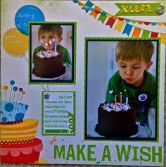 *Make a Wish - Scrapbook.com