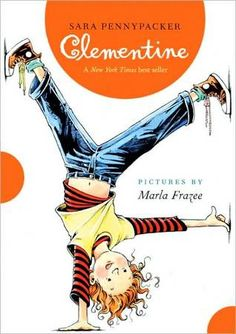 Clementine by Sara Pennypacker with illustrations by Marla Frazee.  I adore Clementine, a third-grader who is not unfamiliar with the principal's office but who has a wonderfully kind heart. Frazee's delightful drawings add tremendously to the fun. Book One in this highly recommended series.