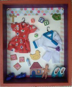 """""""Paulina"""". Caja/Arte. Collage. Caja de Madera conteniendo objetos de materiales variados."""
