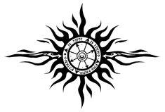 Chaos Sun tattoo design by ~stardrop on deviantART