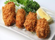 A Fall Favorite in Japan: Kaki Fry (Breaded and Deep Fried Oysters): Kaki Fry (Japanese Fried Oysters)