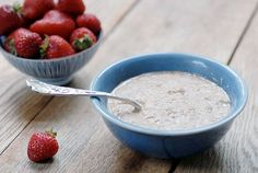 Paleo Porridge is a gluten free hot cereal --makes a delicious and healthy breakfast with a side of Simple Fruit Salad and Dandelion Root Coffee.