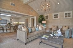 Light fixtures for vaulted ceilings lavish living room designs with final house plan ideas home decor . Coastal Living Rooms, Home Living Room, Living Room Designs, Living Area, Kitchen Living, Room Kitchen, Small Living, Living Spaces, Vaulted Ceiling Lighting