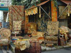 Paris flea market-Marche aux puces St Ouen been loved it Antique Market, Antique Stores, Vintage Market, Vintage Shops, St Ouen, Tuileries Paris, Bric À Brac, Disneyland, Paris Flea Markets