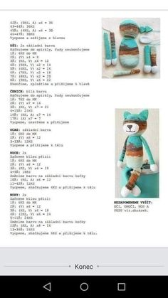 Image Article – Page 707628160182312971 Crochet Animal Patterns, Crochet Doily Patterns, Crochet Patterns Amigurumi, Stuffed Animal Patterns, Crochet Animals, Crochet Gifts, Crochet Toys, Stitch Doll, Cat Amigurumi