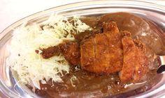 """""""Chicken katsu curry"""" in Tokyo)"""