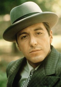 Al Pacino as Michael Corleone, the youngest son of Don Vito Corleone in 'The Godfather', Corleone Family, Don Corleone, Don Draper, Richard Madden, Matthew Daddario, Robert Downey Jr, Brad Pitt, Young Al Pacino, Movie Stars